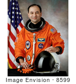 #8599 Picture Of Astronaut Mark Lewis Polansky