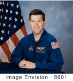 #8601 Picture Of Astronaut Stephen Nathaniel Frick