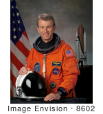#8602 Picture Of Astronaut Brent Ward Jett Jr