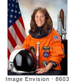 #8603 Picture Of Astronaut Lisa Marie Nowak