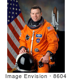 #8604 Picture Of Astronaut James Mcneal Kelly