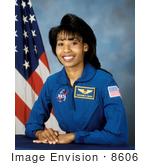 #8606 Picture Of Astronaut Stephanie Diana Wilson