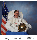 #8607 Picture Of Astronaut Michael Landon Gernhardt