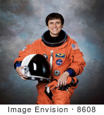 #8608 Picture Of Astronaut Franklin RamóN Chang DíAz
