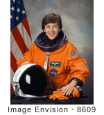 #8609 Picture Of Astronaut Wendy Barrien Lawrence