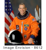 #8612 Picture Of Astronaut Charles Owen Hobaugh