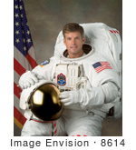 #8614 Picture Of Astronaut Steven Swanson
