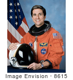 #8615 Picture Of Astronaut Donald Alan Thomas