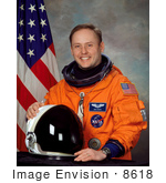 #8618 Picture Of Astronaut Michael Fincke