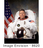 #8620 Picture Of Astronaut Michael Edward Fossum