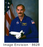 #8628 Picture Of Astronaut William Francis Readdy