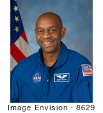 #8629 Picture Of Astronaut Robert Lee Satcher Jr