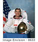 #8633 Picture Of Astronaut James Shelton Voss