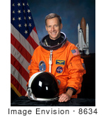 #8634 Picture Of Astronaut Christopher John Ferguson