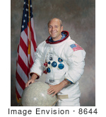 #8644 Picture Of Astronaut Ronald Ellwin Evans Jr