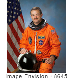 #8645 Picture Of Astronaut Scott Douglas Altman
