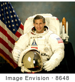 #8648 Picture Of Astronaut Jerome Apt