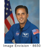 #8650 Picture Of Astronaut Joseph Michael Acaba