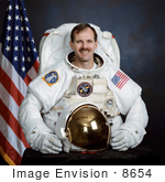 #8654 Picture Of Astronaut Steven Smith