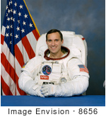#8656 Picture Of Astronaut Carl Erwin Walz