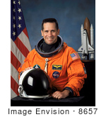 #8657 Picture Of Astronaut William Anthony Oefelein