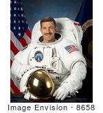 #8658 Picture Of Astronaut Daniel Christopher Burbank