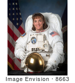 #8663 Picture Of Astronaut Heidemarie Martha Stefanyshyn-Piper