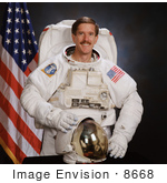 #8668 Picture Of Astronaut James Francis Reilly Ii