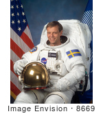 #8669 Picture Of Astronaut Arne Christer Fuglesang