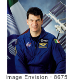 #8675 Picture Of Cosmonaut Paolo A Nespoli
