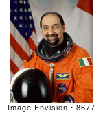 #8677 Picture Of Astronaut Umberto Guidoni