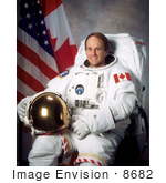 #8682 Picture Of Astronaut Steven Glenwood Maclean