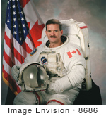 #8686 Picture Of Astronaut Chris Austin Hadfield