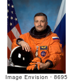 #8695 Picture Of Astronaut Fyodor Nikolayevich Yurchikhin