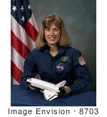 #8703 Picture Of Astronaut Nancy Jan Davis