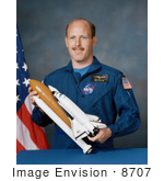 #8707 Picture Of Astronaut Kenneth Duane Bowersox