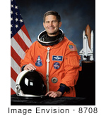 #8708 Picture of Astronaut Paul Lockhart by JVPD