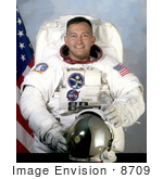 #8709 Picture of Astronaut Carlos Ismael Noriega by JVPD