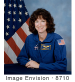 #8710 Picture Of Astronaut Laurel Blair Salton Clark