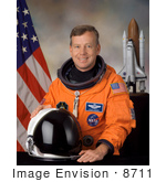 #8711 Picture Of Astronaut Steven Wayne Lindsey