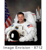 #8712 Picture Of Astronaut Douglas Harry Wheelock