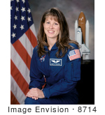 #8714 Picture Of Astronaut Tracy Ellen Caldwell
