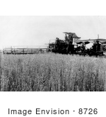 #8726 Picture Of A Combine Harvester