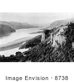 #8738 Picture Of A Scene On The Columbia River