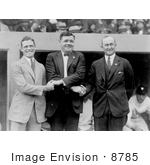 #8785 Picture of George Sisler, Babe Ruth, Ty Cobb by JVPD