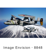 #8848 Picture Of E-2c Hawkeyes