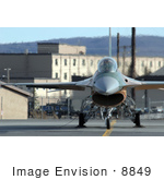 #8849 Picture Of An F-16 Fighting Falcon