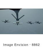 #8862 Picture Of A Kc-135 Stratotanker