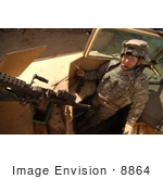 #8864 Picture Of A Military Police Woman