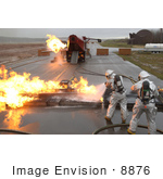 #8876 Picture Of Fire Fighter Training